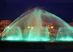 Fountain Projecting In Two Sides